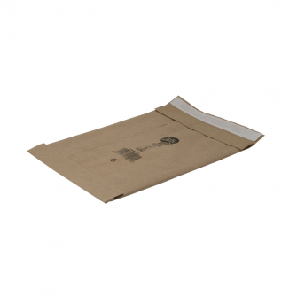 Kraft Paper Padded Postal Bag with Strong Adhesive Strip [Back]