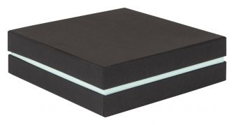 Shoulder Box Collection | Choker Jewellery Box  Black & Pastel Turquoise