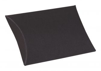 Medium Black Pillow Box