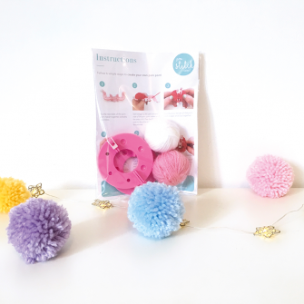 Pom Pom Maker Set - Small