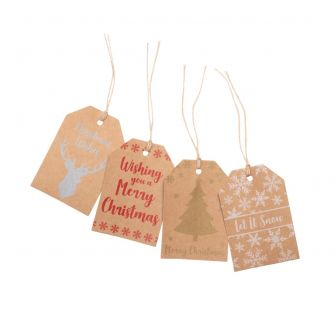 Printed Christmas Gift Tags
