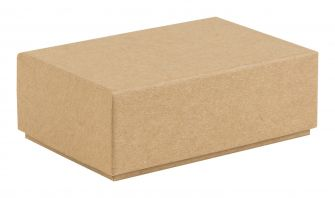 Small Rigid 2 Piece Postal Box | Gift Box  Kraft