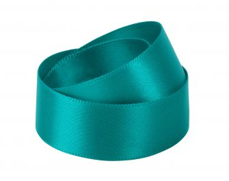 Green Satin Ribbon | Recycled Ribbon