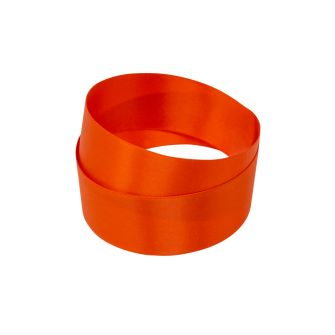 Orange Recycled Bottle Satin Ribbon