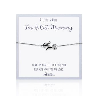 A Little Sparkle for a Cat Mummy Bracelet