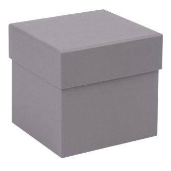 Luxury Cube Box  Grey