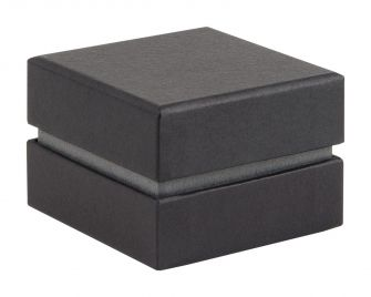 Shoulder Box Collection | Ring Jewellery Box  Black