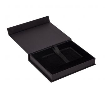 Magnetic Gift Card Box. Black