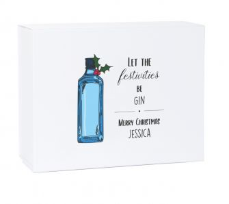 Let The Festivities Be Gin Christmas Gift Box