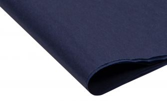 Small Recycled Navy Blue Tissue Paper