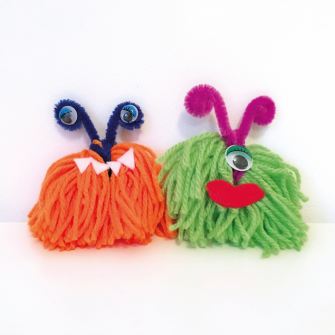 Yarn Monsters Craft Kit