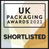 UK Packaging Awards - Shortlisted 2021