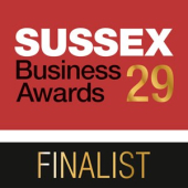 Sussex Business Awards - Finalist 2017