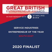 Great British Entrepreneur Awards - Finalist 2020