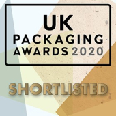 UK Packaging Awards - Shortlisted 2020