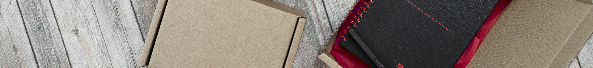 Kraft Brown Flat Packed Postal Boxes
