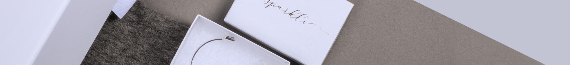 Kraft White Gloss Jewellery Gift Boxes