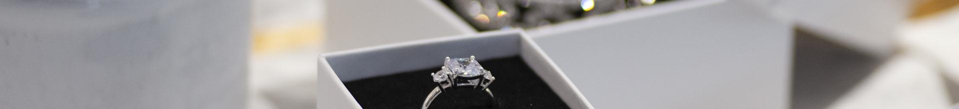 Luxury White Jewellery Boxes
