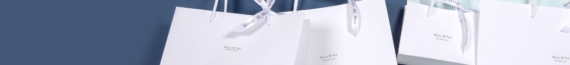 White Gift Bags