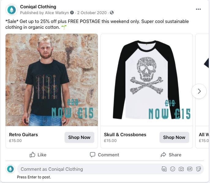 Marketing agency - Facebook boost