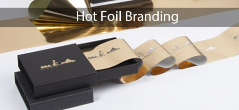 hot foil printing, personalised gift boxes