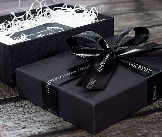 Tiny Box Company Branded Ribbon